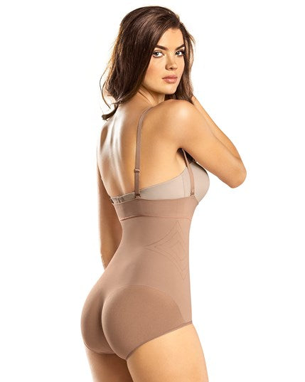 Leonisa Invisible Moderate Shaper Panty with Adjustable / Removable Straps 012728M, Best Waist Cinchers Trainers Slimming Shapewear Canada, BestShapewearCanada