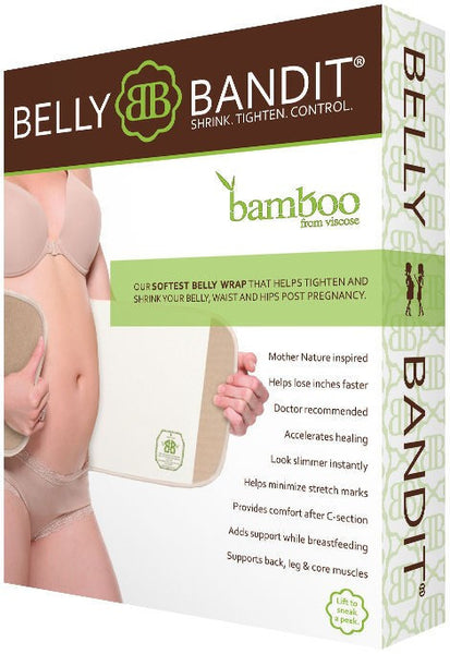Belly Bandit Bamboo Post-Pregnancy Compression Wrap, Best Post Partum Pregnancy Waist Compression Shapers, BestShapewearCanada