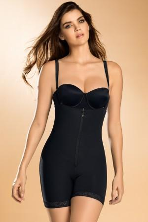 Leonisa Slimming Shaper Compression Bodysuit with Booty Lifter 018486, Best Booty Lifter Butt Shaper Slimming Boyshort Shapewear, BestShapewearCanada