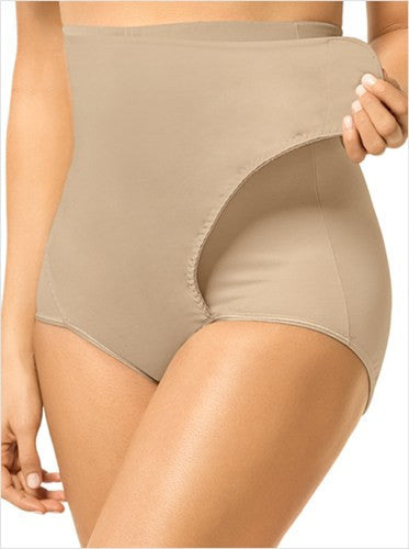 shapewear, Leonisa High Waisted Post-Pregnancy Panty with Adjustable Belly Wrap, Luna Maternity & Nursing,  - 3
