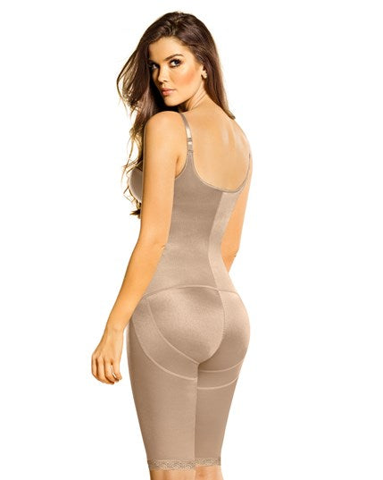 Leonisa Braless All Over Minimizer Bodysuit 018433, Best Thigh Waist Slimming Shapewear Canada, BestShapewearCanada