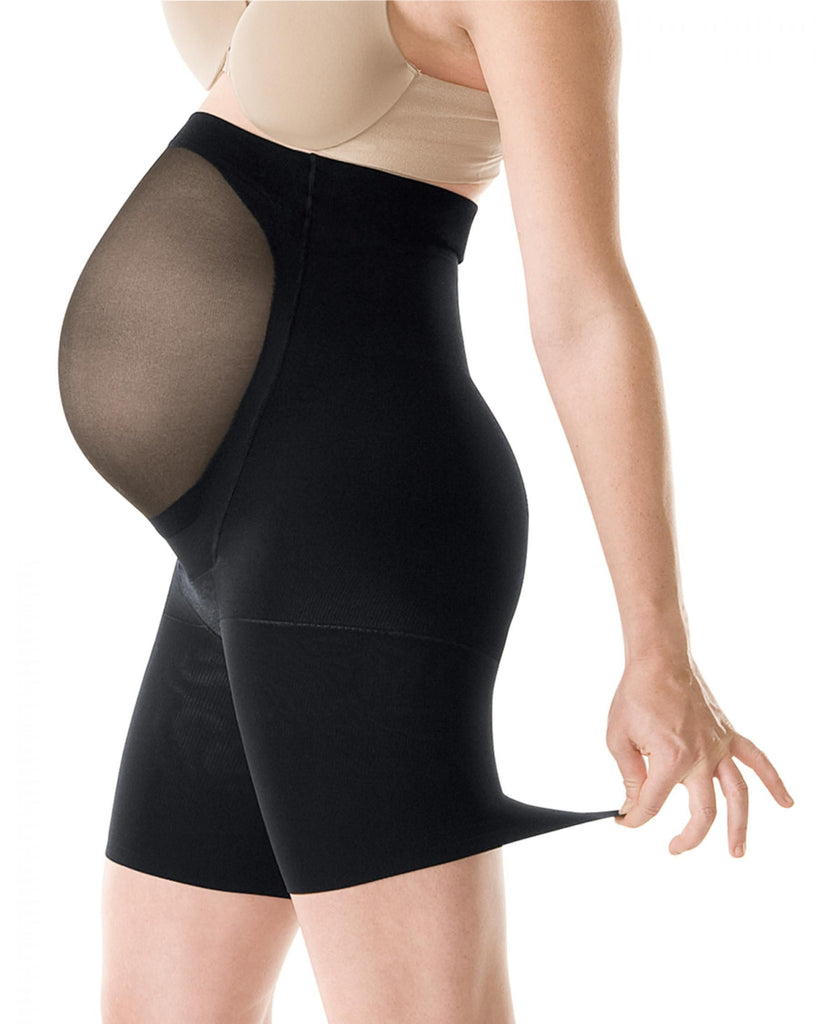 Spanx Power Mama Maternity Mid Thigh Shaper, Best Post Partum Pregnancy Waist Compression Shapwear Stockings, BestShapewearCanada
