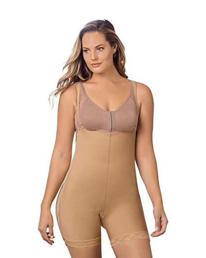 Leonisa Double Take Open Bust Firm Compression Post Surgical Body Shaper 018499, Best Booty Lifter Butt Shaper Slimming Boyshort Shapewear, BestShapewearCanada