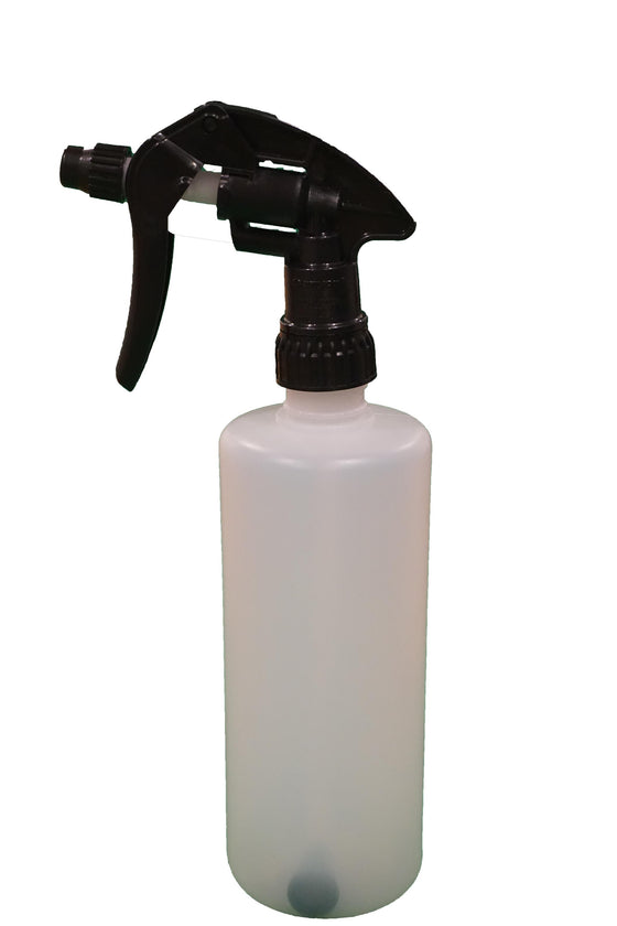 500ml Spray Bottle With Black Trigger
