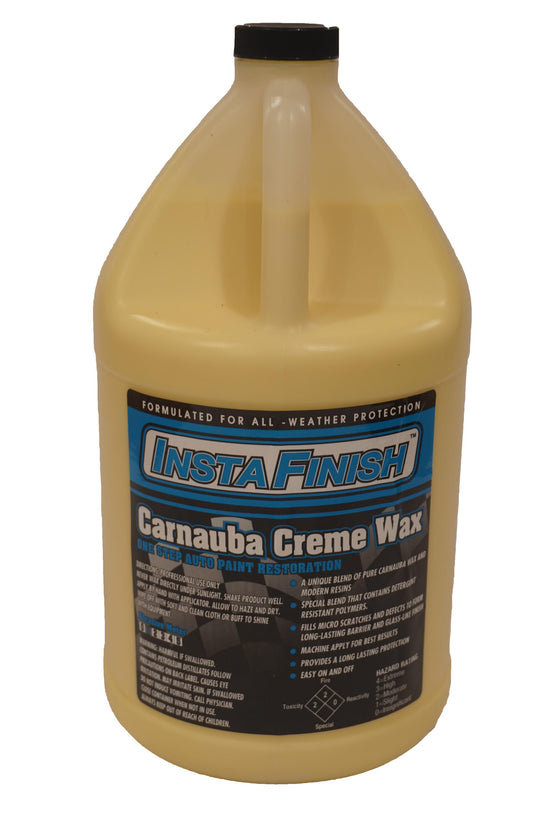 Carnauba Creme Wax - One Step Auto Paint Restoration