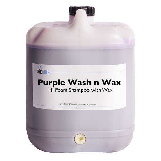 Purple Wash and Wax - Hi Foam Shampoo With Wax