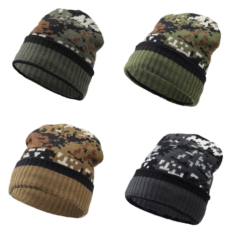 Camouflage Winter Hat