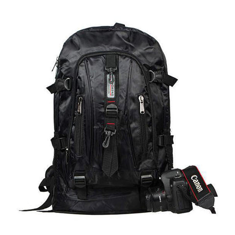 Multi-Purpose Outdoor Daily Travel Backpack - Black