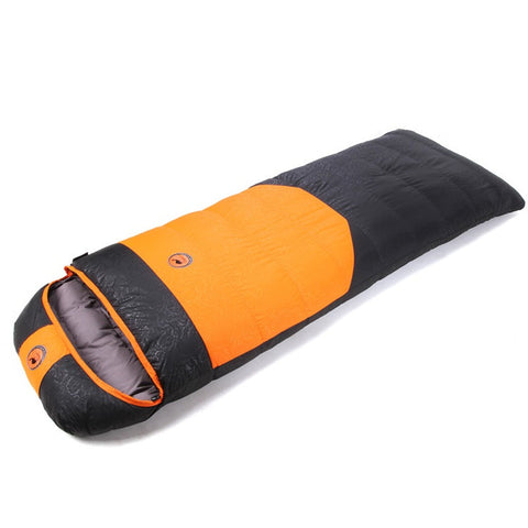 Camcel ultralight camping sleeping bag envelope white duck down sleeping bag goose down sleeping bag 1500/1700/1900g