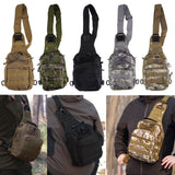 Compact Tactical Backpack With Carrying Strap
