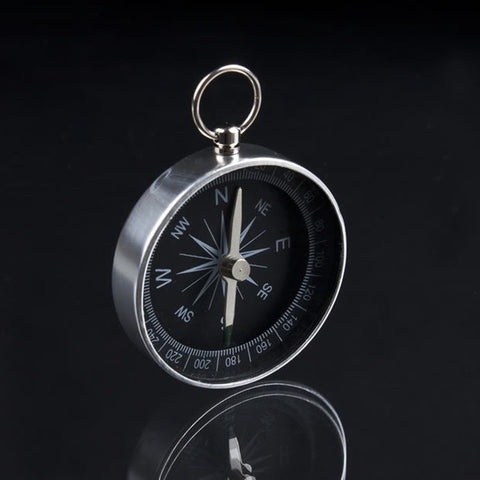 Mini Aluminum Pocket Compass