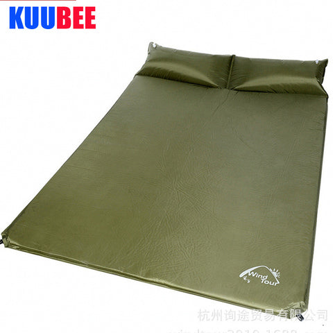 Automatic inflatable cushion Camping Mat Double Air Mattress Picnic Blanket Matelas Gonflable Camping Cushion Rug Camp Equipment