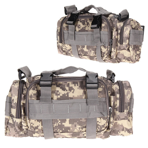 3 in 1 Military Tactical Waist Pack, Backpack and Mini Duffle Bag