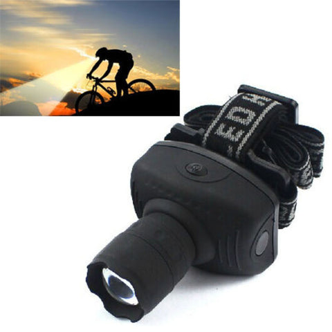 CREE 600Lumen LED Headlamp Flashlight Frontal Lantern Durable Zoomable Head Torch Light Bike Riding Lamp For Camping Hunting