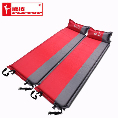 Self-Inflating Sleeping pad Outdoor hiking camping Backpacking travel mat Mattress with Inflatable Pillow tent air bed
