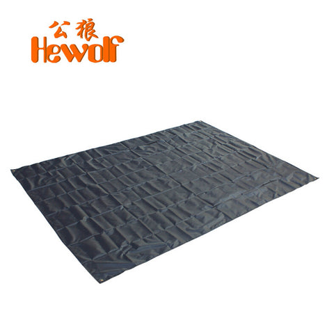 Outdoor camping equipment tarp foldable beach mat waterproof picnic blanket beach rug camping mat HeWolf 200*145CM