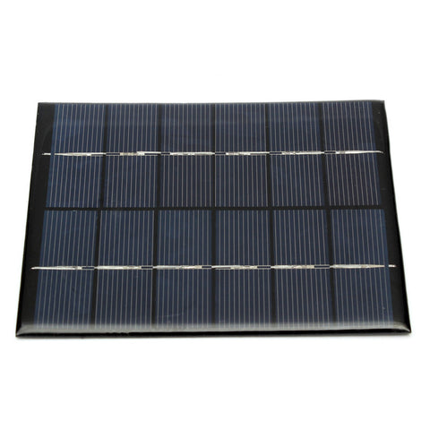 Solar Panel Module for Light Battery Cell Phone Charger Portable 6V 2W 330MA DIY