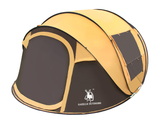 Compact 3-4 Person Expandable Tent with Automatic Tent Setting Feature