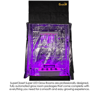 SuperRoom 2′ x 4′ LED Grow Room