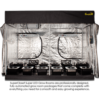 SuperRoom 5′ x 9′ LED Grow Room
