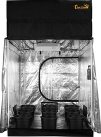 SuperRoom 5′ x 5′ HPS Soil Grow Room