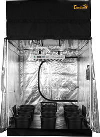 SuperRoom 5′ x 5′ LED Soil Grow Room