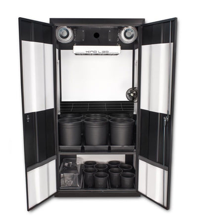 Deluxe 3.0 LED Soil Grow Cabinet