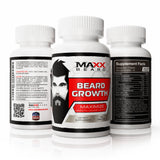 Beard Growth Vitamins Supplement for Full, Healthy and Long Beard