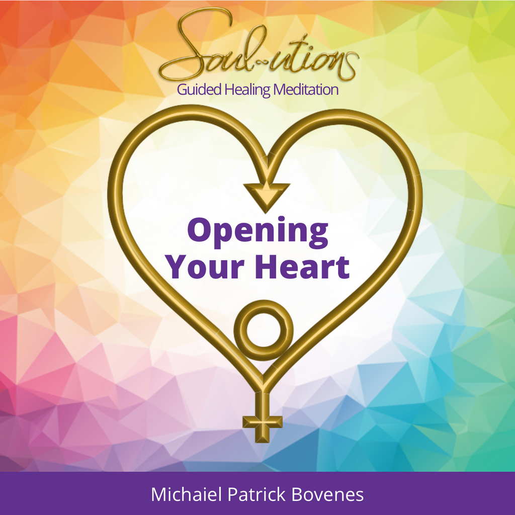 Open Your Heart Center to Allow More Love into Your Life - •