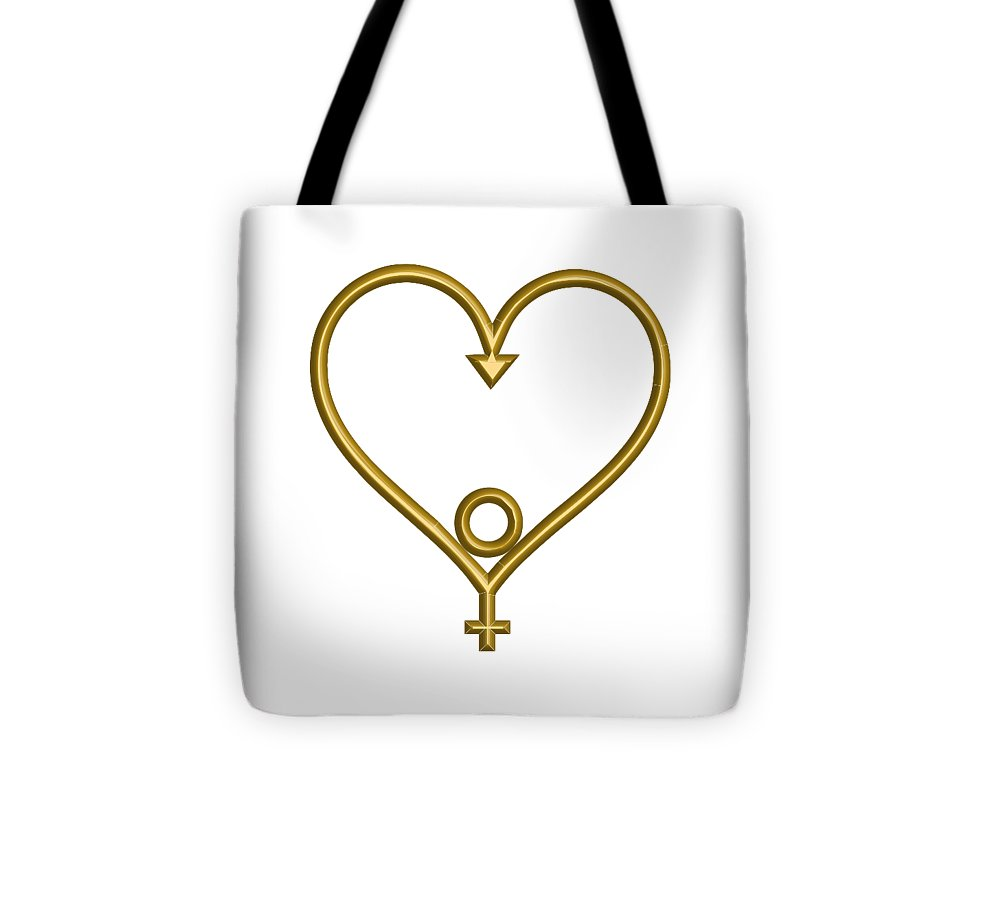NEW • Tote Bag • Age of Aquarius • Heart of Hope • - •