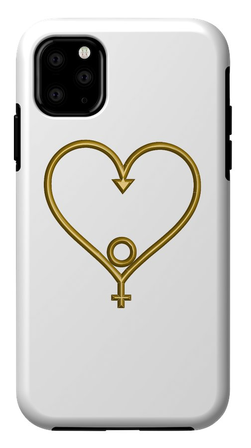 Phone Case•  Heart of Hope for the Age of Aquarius • Soul-utions - •