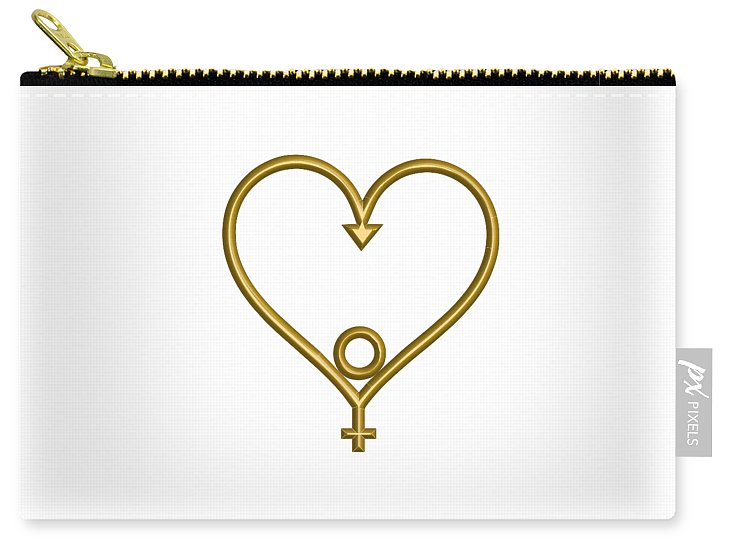 Heart of Hope Carry-All Pouch  for the Age of Aquarius - •