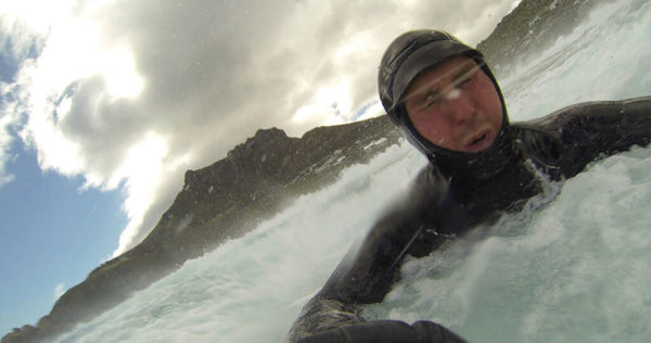 Bodysurfing in Cape Town
