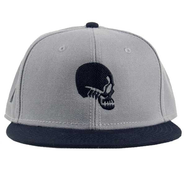 Hat - Born with Gills - Gilled Skull Trucker