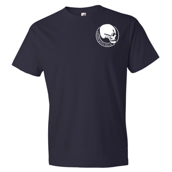 t-shirt - Born with Gills - Men's Gilled Skull Logo t-shirt