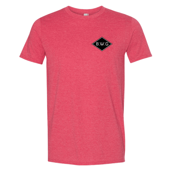t-shirt - Born with Gills - Men's BWG Diamond Logo t-shirt