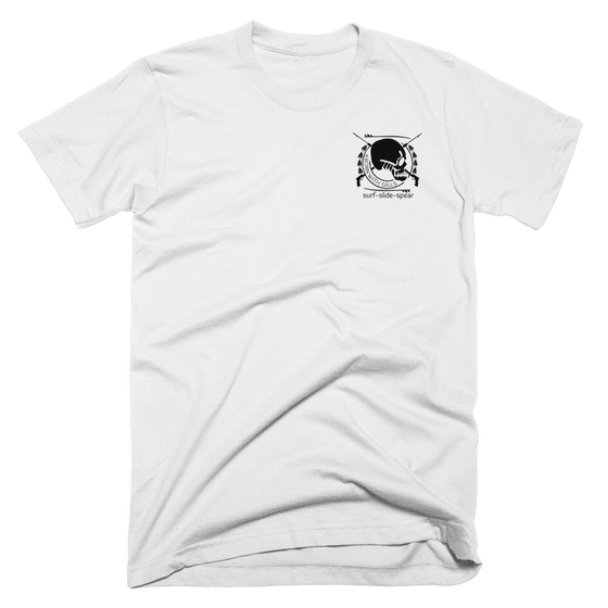 t-shirt - Born With Gills - Men's Classic SSS Emblem Tee