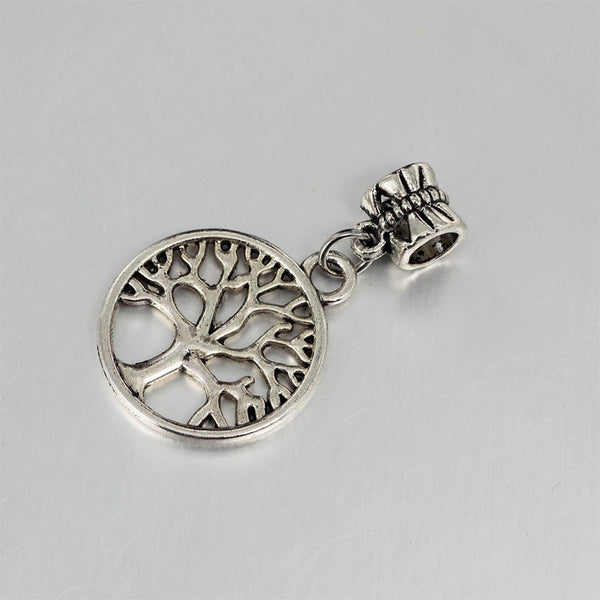 Family Tree, Dangle, Charm, Silver