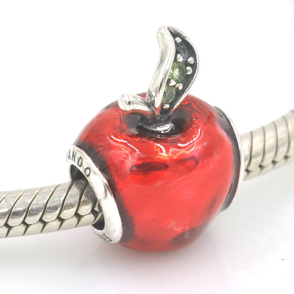 Disney, Snow White's Apple, Silver, Charm