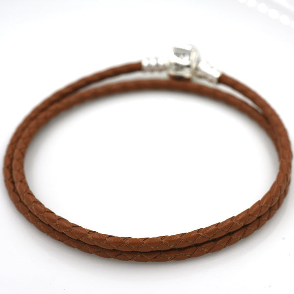 Coffee Leather, Silver
