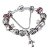 AirCraft, Crystal Murano Beads, Bracelet Set