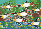 Languna (Magpie Geese) Poster A1