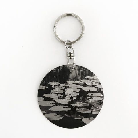 Mijangari (Lily Flower) Key Ring by Donna Foster