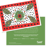 Wendy Daylight Greeting Card - Mangarrayi Flower
