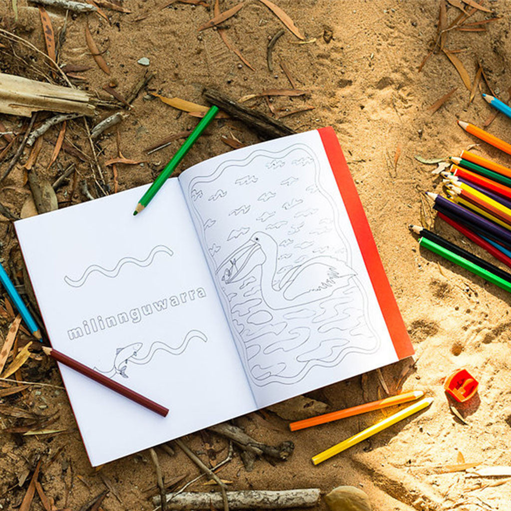 The Alawa Colouring Book