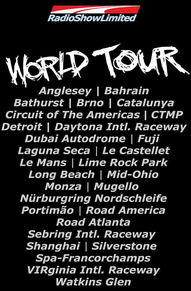 RadioShowLtd World Tour Tee