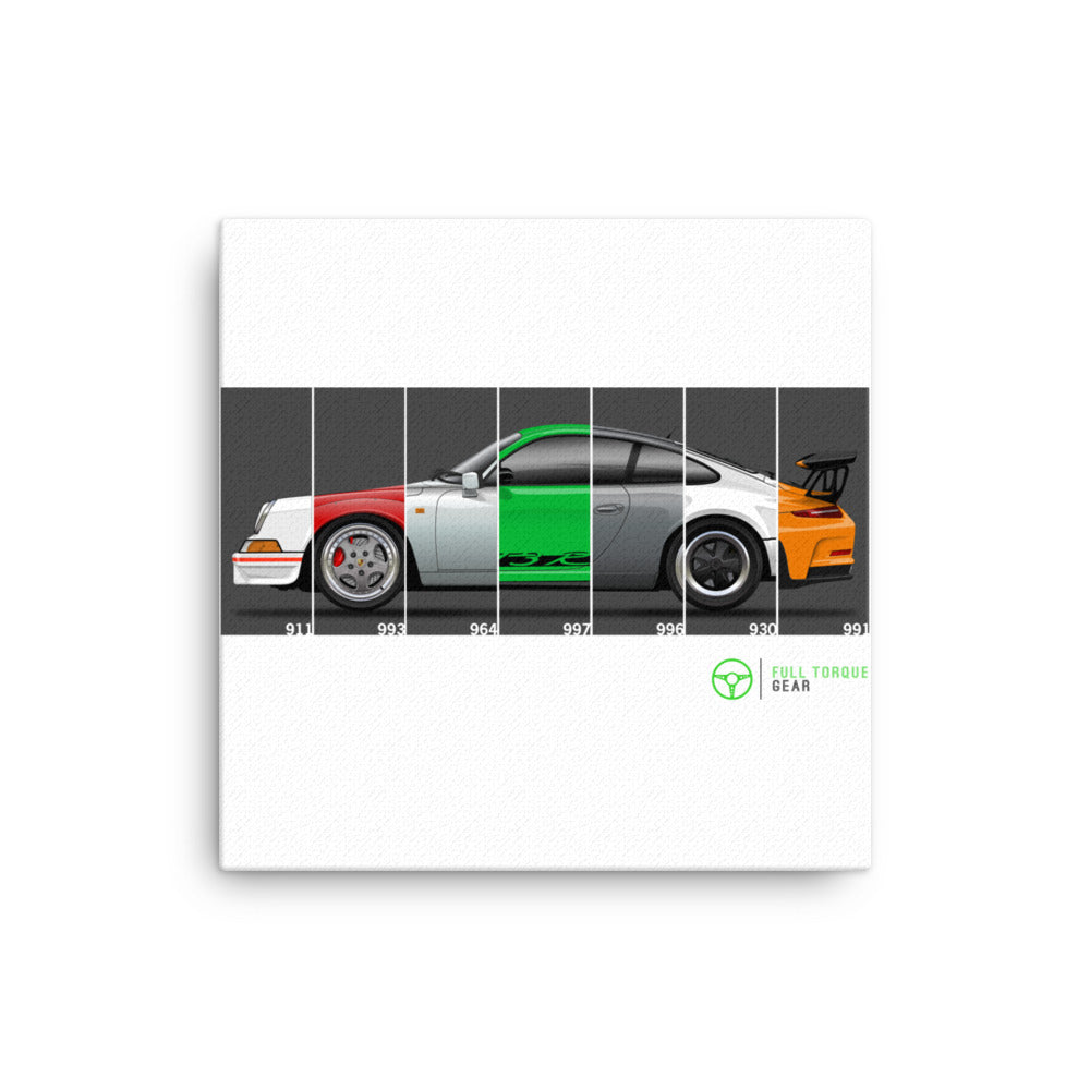 911 Generations Canvas Print
