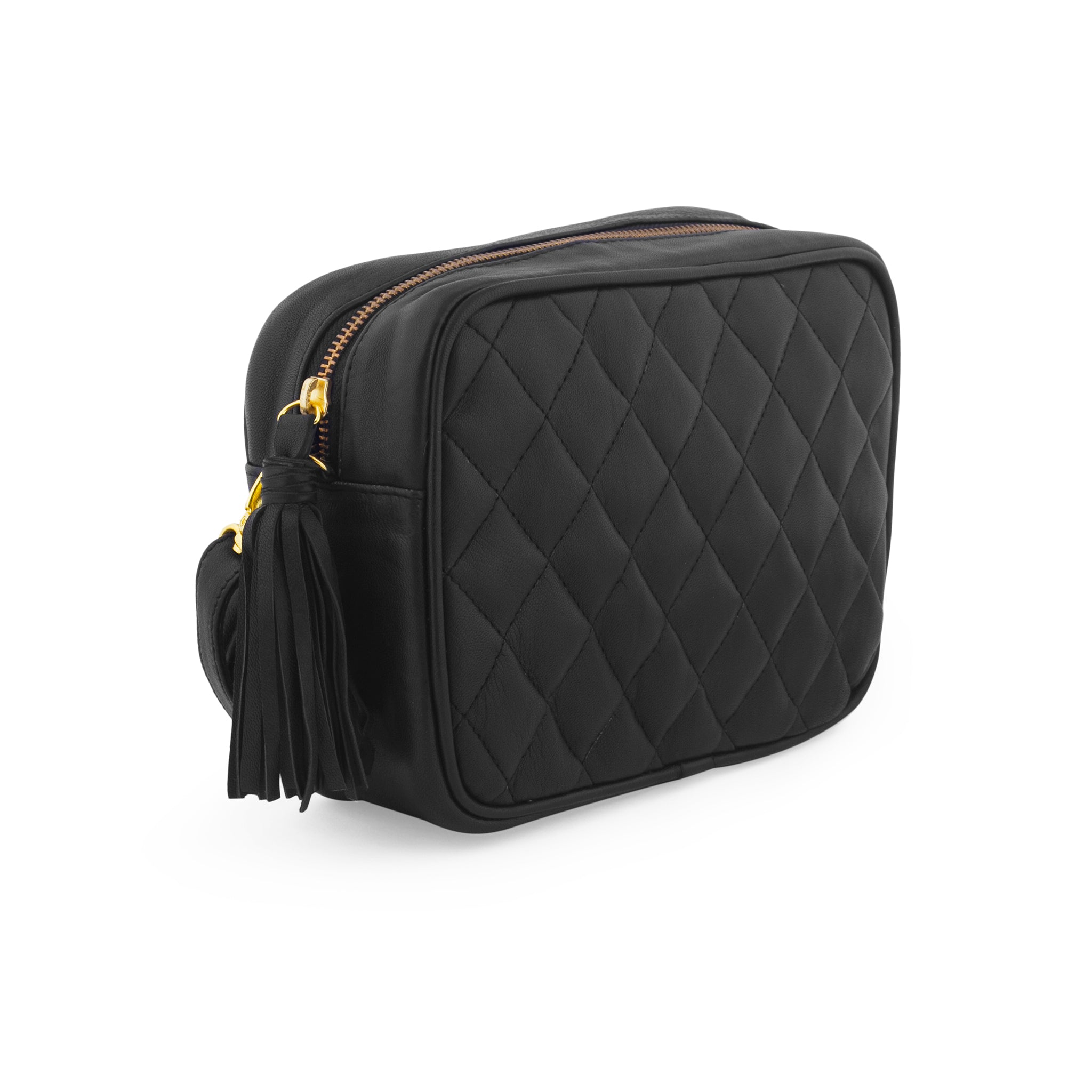 crossbody quilted camera bag; mz wallace quilted leather camera bag; black camera bag; matelasse mini camera bag; designer mini camera bag; disco gucci quilted bag; pink mini camera bag; black crossbody bag; spring 2018 bag trend; black leather mini camera bag; black leather quilted women's bag