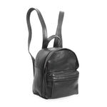 backpack; black backpack; black leather backpack; backpack for women; madewell backpack mini lori; leather goods; fairtrade leather goods