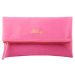 Personalized Name Leather Clutch Bag